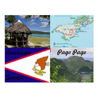 Americano, Samoa, cartão de Pago Pago