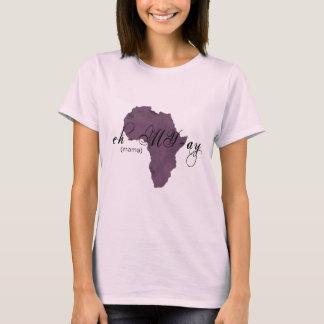 """Amharic etíope """"Mama"""" camisa"""