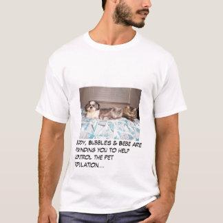 Amigo, bolhas & Bebe Camiseta