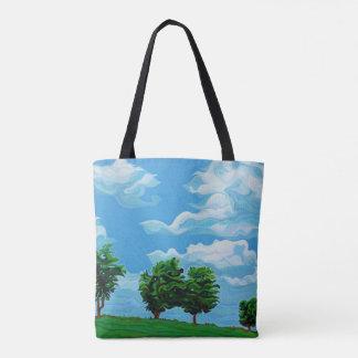 Amigo da árvore bolsas tote
