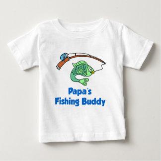 Amigo da pesca da papá tshirt