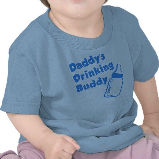 Amigo do bebendo do pai tshirt