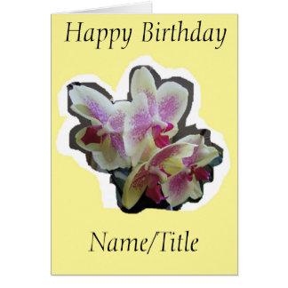 Amigo Nana da esposa do cartão de aniversário da