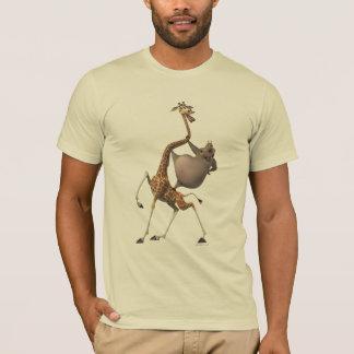 Amigos de Gloria e de Melman Camiseta