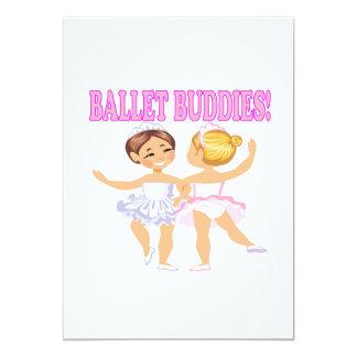 Amigos do balé convites personalizado