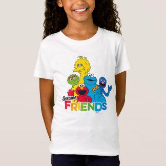 Amigos do sésamo do Sesame Street | Camiseta
