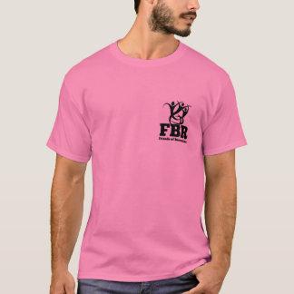 Amigos do t-shirt do voluntário da elevação da camiseta
