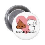 amigos para sempre, amigos para sempre! boton