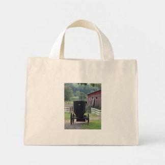Amish Buggie - Holmes Co OH Bolsa De Lona