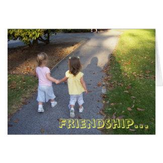 Amizade… Cartão De Nota