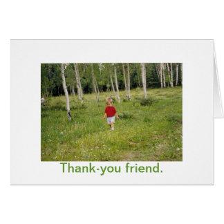 Amizade Cartão