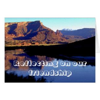 Amizade Cartão Comemorativo