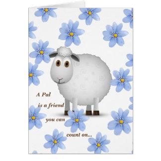 Amizade Cartão De Nota