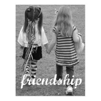 amizade cartão postal