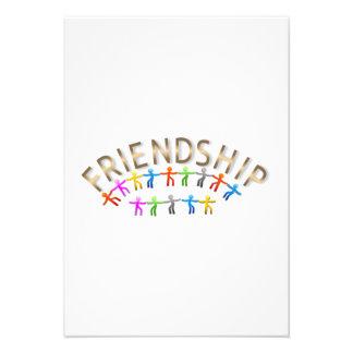Amizade Convites Personalizado
