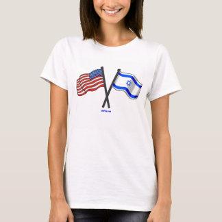 Amizade de Israel do americano Camiseta