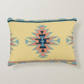 Amizade do nativo americano do sudoeste almofada decorativa