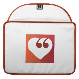 """Amor 15"""" da liberdade de expressão pro caso de bolsas MacBook pro"""