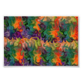Amor 2 da cor impressão de foto