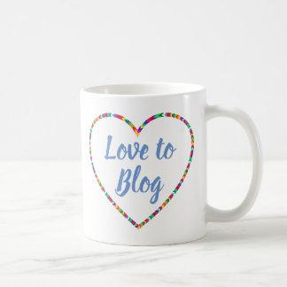 Amor à caneca do blogue