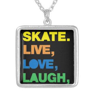 Amor a patinar - colar