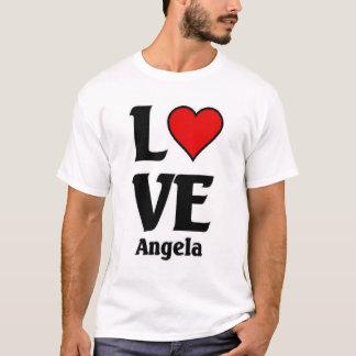 Amor angela camiseta