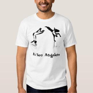 Amor angola do meu do capoeira da camisa tshirts