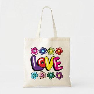 Amor & bolsa das flores