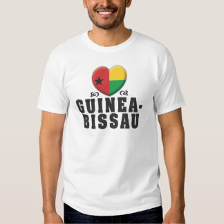 Amor C de Guiné-Bissau T-shirts