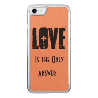 Amor Capa iPhone 8/ 7 Carved