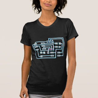 Amor-Conexão (preto) Tshirt