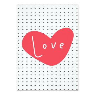 Amor Convite 12.7 X 17.78cm