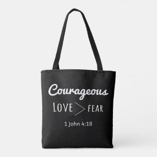 Amor corajoso do bolsa maior do que o medo