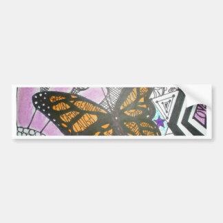 Amor da borboleta adesivo