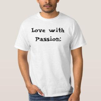 Amor da camisa com paixão Capoeira Camisetas
