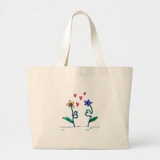 Amor da flor bolsa para compra