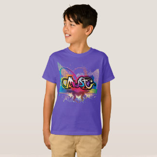 Amor da música camiseta