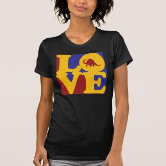 Amor da paleontologia t-shirts