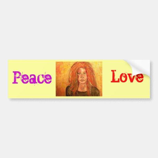 Amor da paz                            … adesivo