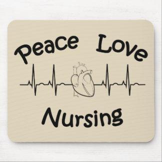 Amor da paz que nutre Mousepad