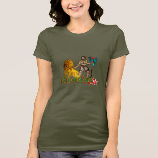 AMOR da reggae Camiseta