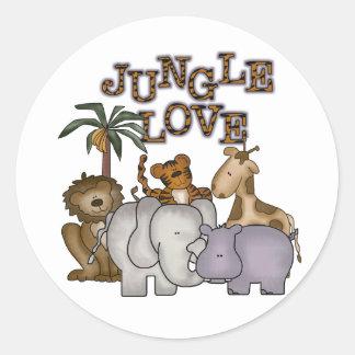 Amor da selva adesivo