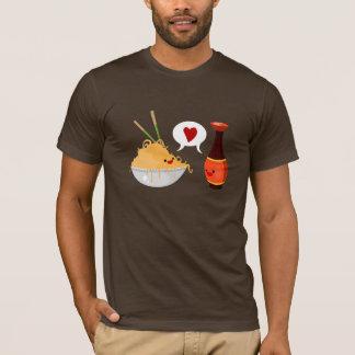 Amor da soja camiseta
