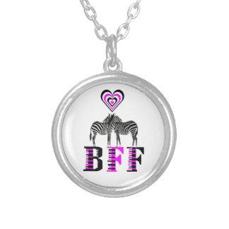 Amor da zebra - BFF Colares Personalizados