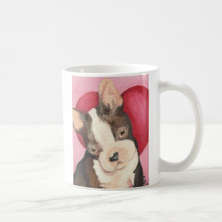 Amor de Boston Terrier Caneca De Café
