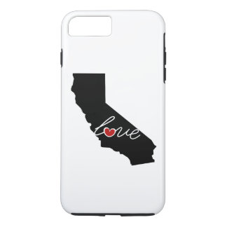 Amor de Califórnia! Presentes para amantes de CA Capa iPhone 8 Plus/7 Plus