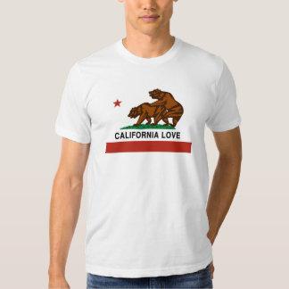 Amor de Califórnia Tshirts