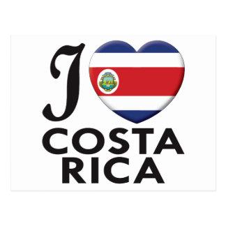 Amor de Costa Rica Cartão Postal