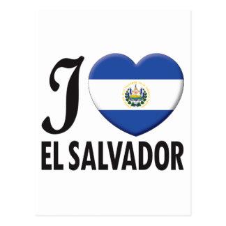 Amor de El Salvador Cartao Postal