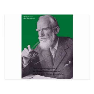 Amor de George B Shaw/presentes & cartões do